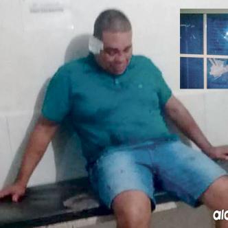 Alexánder Pacheco causó daños en el puesto de salud.