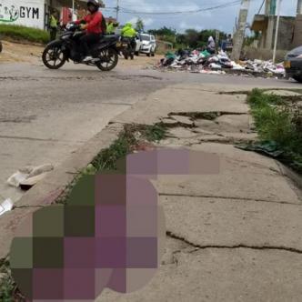 Calle 84 con carrera 36 del barrio Colinas campestre, donde ocurrió el homicidio. | Al Día