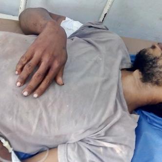 César Gutiérrez Bovea terminó con una herida de bala en un brazo al no dejarse atracar.   Al Día