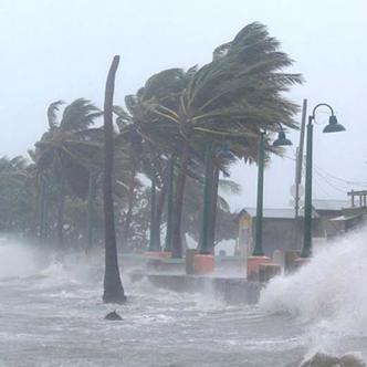 Llegada del huracán Irma, en septiembre del año pasado, a las costas de Puerto Rico, donde causó una tragedia.