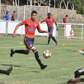 El barranquillero también estuvo en Selección Colombia Sub-15.