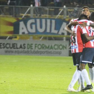 Junior igualó 0-0 en Bogotá y eliminó a Equidad.