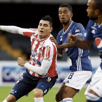 El equipo Rojiblanco cayó 2-0 ante Millonarios.