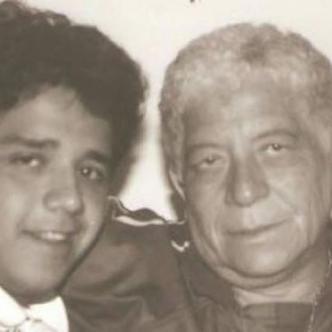 Fabio Poveda Ruiz y Fabio Poveda Márquez. Padre e hijo disfrutando de un momento juntos. | Al Día