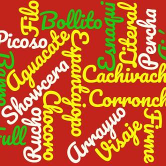 Estas son algunas de las palabras más utilizadas por los barranquilleros | Nubedepalabras.es