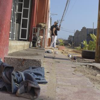 El homicidio ocurrió en este sector del barrio San Roque. | Jhonny Olivares