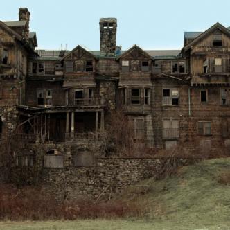 Aspecto general de cómo lucía la mansión Summerwind en Wisconsin (EE. UU.).
