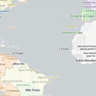 """""""The Cultural Borders of Songs"""", un mapamundi interactivo.   Al Día"""