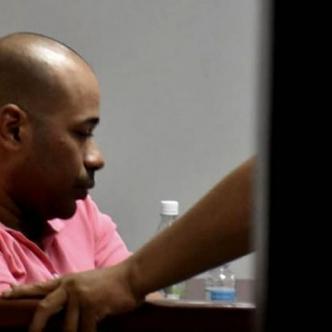 Marlon José Carrillo Borja, docente capturado. | Luis Rodríguez
