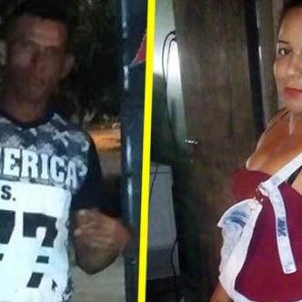 Alfonso Enrique Morales (agresor) y  Millys Judith Escorcia De la Hoz (víctima)