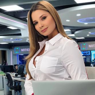 Melissa Martínez Artuz, de 32 años, es una periodista y presentadora de deportes soledeña.