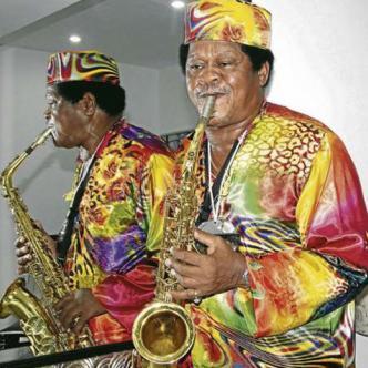 Blas 'Michi' Sarmiento Marimón, cantante, compositor, arreglista y saxofonista cartagenero. | Cortesía