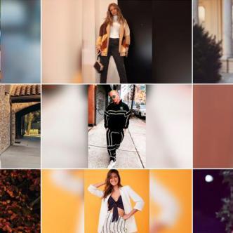 Moda de los años 90 en el 2018. | Tomada de Instagram.