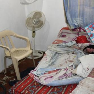 En esta habitación fue hallado el cuerpo sin vida de Eduardo Enrique Carmona Rodríguez, de 65 años. | Al Día
