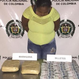 Isabel García quedó disposición de la Fiscalía por el delito de tráfico de estupefacientes.   Al Día