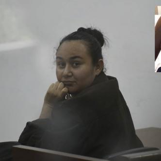 Jessika Valbuena, acusada de prender fuego a su marido, Jairo González.