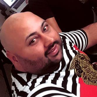 Luis Rivera, de 38 años, músico de la agrupación puertorriqueña Zion y Lennox | Instagram