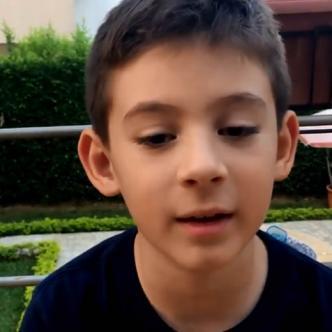 Federico García Villegas, un caleño de 8 años que padece Asperger  | Captura de pantalla