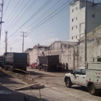 Sector del barrio Villanueva, donde se presentó el accidente laboral.   Cortesía