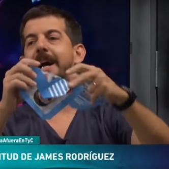 El periodista deportivo aseveró que James era un 'vendido' | Al Día