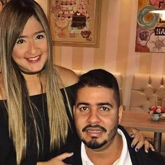 Daniella Ahumada Comas junto a Mateo Cabrera Urueta, señalado de agresión. | Al Día