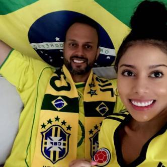Kleber, hincha del Vasco Da Gama, asegura que Brasil ganará con goles de Neymar, mientras que Sonia apuesta por un triunfo tricolor con gol de Falcao | Al Día