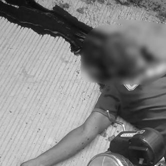 Güette De León murió de manera instanánea por el balazo que le propinaron en el lado derecho de la cabeza.   Al Día