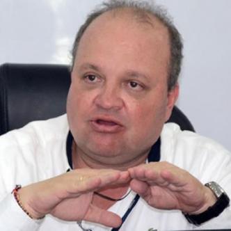 El antioqueño Jorge Enrique Vélez, presidente de la División Mayor del Fútbol Colombiano, Dimayor.   Archivo EL HERALDO