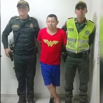 William Benavides Murcia, de 33 años, se fugó el jueves del edificio 'Galaxia', ayer en la madrugada lo recapturaron.