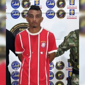 Joiner José Donado Garizábalo, el sujeto capturado tras terminar un partido de fútbol en una cancha de Soledad. | Al Día