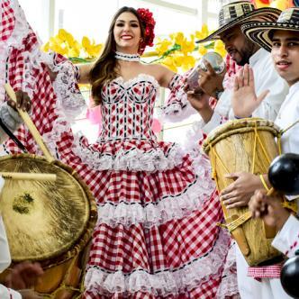 Carolina Segebre Abudinen, de 22 años, cuenta con una gran trayectoria carnavalera. | Josefina Villareal