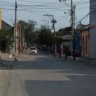 Sector del barrio San Roque, por donde se registró el homicidio.   Johnny Olivares