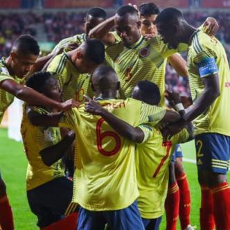 Celebró la Selección Colombia Sub.20. | Tomada de Internet.