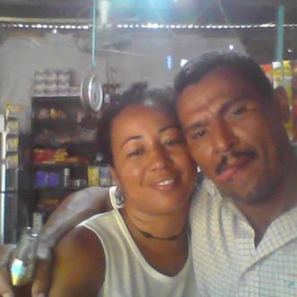 Cecilia Moreno Pérez y Jacob Guerrero Ramos, antes de la agresión.