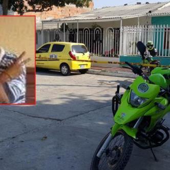 Sector del barrio Tajamar I en Soledad, donde se registró el homicidio. Luis Felipe De la Hoz