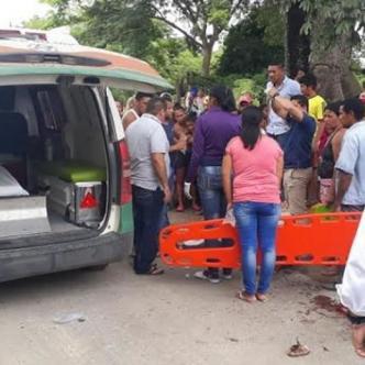 La madre y la niña de 13 años fueron trasladadas al hospital de El Banco, donde falleció la menor de edad. | Al Día