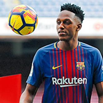 Yerry Mina buscará ganar experiencia en el Barcelona F.C. | AFP