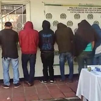 Se cayó su teatro y lograron capturar a 9 personas más | Policía de Boyacá