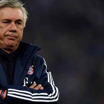 A pesar de sus excelentes referencias, a Ancelotti se le salió de las manos las estrellas del Bayern, lo que le costó su trabajo   AFP