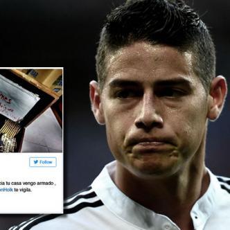 La estrella de la Selección Colombia y 10 del R. Madrid fue blanco de un ataque por Twitter   AlDía.co