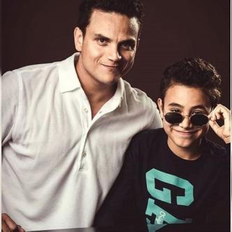'El Mónaco' participó en la producción del nuevo álbum de su padre Silvestre Dangond. | Tomada de: Instagram.