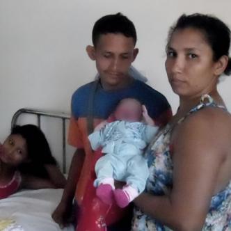 Bárbara Berrío fue atendida en el hospital San Agustín | Cortesía