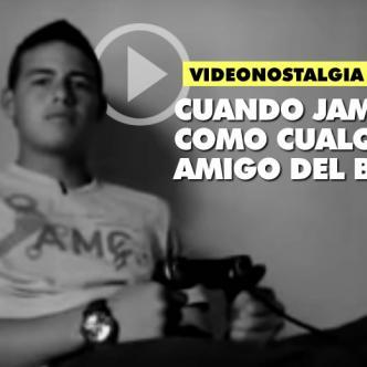 Un video que nos produce mucha nostalgia: James siendo casi un niño y a punto de ser una estrella del fútbol mundial | ALDIA.CO