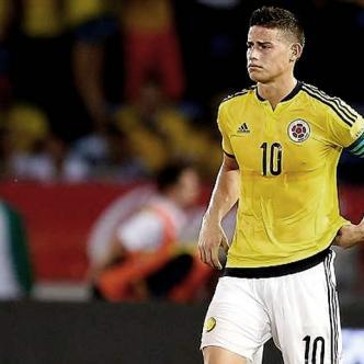 El capitán de la Selección Colombia no tuvo un buen partido contra el seleccionado de Chile   Archivo