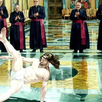 La canción le da la vuelta al mensaje erótico original para hacer una oda a Jesucristo | Foto:  Cosmo Sarson