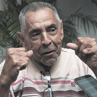 """La pierna me tiene incómodo"", dice Pardo. | Foto: Archivo"