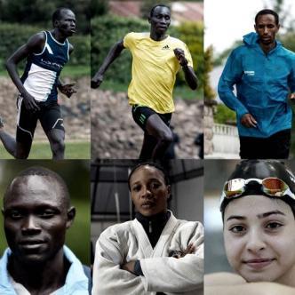 Estos 10 deportistas se medirán en diferentes disciplinas bajo la bandera del Comité Olímpico | ACNUR
