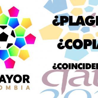 El nuevo logo de la Dimayor sigue generando suspicacias por su enorme parecido con una de las propuestas de logo para Qatar 2022 | Al Día