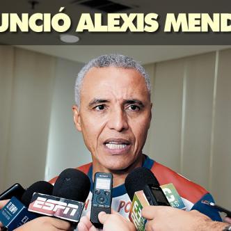 Alexis Mendoza se reunió este martes con Fuad Char en la sede del Junior. | Foto: Archivo