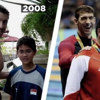 Una de las historias más conmovedoras fue la del nadador de Singapur que le arrebató la medalla de oro a su ídolo, el estadounidense Michael Phelps   ALDIA.CO